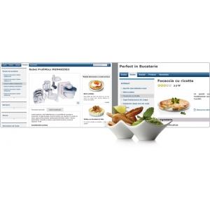 designyourfuture. Platforma online perfectinbucatarie.ro realizata de Media Factory pentru Bosch Romania