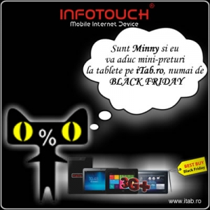 Ai timp, esti relaxat. Precomanda acum tableta InfoTouch dorita de Black Friday, de pe iTab.ro!