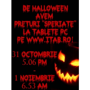 PC Tablet. De Halloween