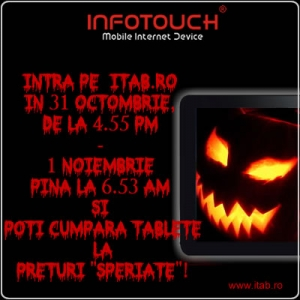 Promotie de Halloween la tabletele pc InfoTouch