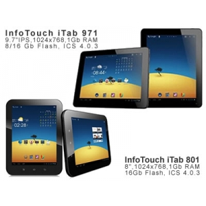 itab 801. Tablete PC InfoTouch iTab801, iTab971
