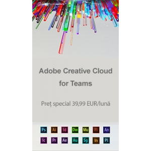 adobe creative cloud. Abobe Creative Cloud la preț special!