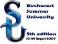 BUCHAREST SUMMER UNIVERSITY 2009    -    Lansare Site