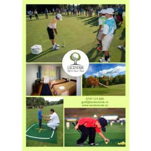 Avantajele taberelor de golf: miscare, aer curat, socializare si dezvoltare