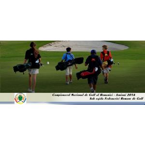altelierele junior. Campionatul National de Golf pentru Juniori, editia 2016