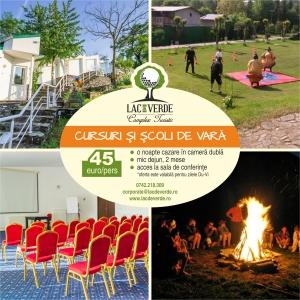 Complex Turistic Lac de Verde (Breaza): loc sigur pentru cursuri, traininguri si scoli de vara