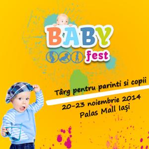 4 zile de reduceri la BabyFest - 20-23 Noiembrie, Palas Mall, Iasi