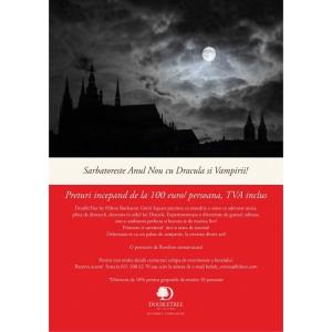 terapie vampir. Revelionul 2016 la hotelul DoubleTree by Hilton Bucharest Unirii Square
