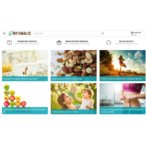 naturalis. Magazinul online NATURALIS MARKET - zeci de avantaje, mii de produse!
