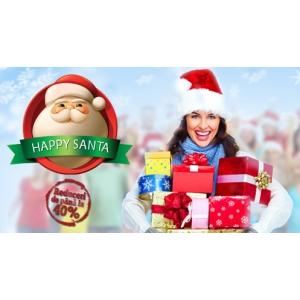 Cadouri online cu pana la 40% discount de la Happy Santa