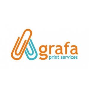 print digital. Logo Agrafa