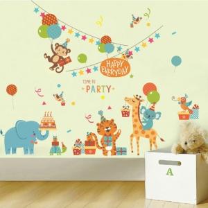 Redecoreaza camera copilului tau in doar cateva minute cu stickerele Eosette