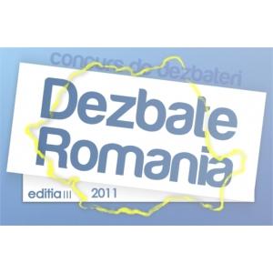 Inscrieri la concursul de dezbateri si oratorie pentru tineri - Dezbate Romania, editia a III-a