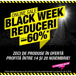 Black Friday 2016.  Primul an in care Hervis organizeaza Black Friday pe platforma online www.hervis.ro